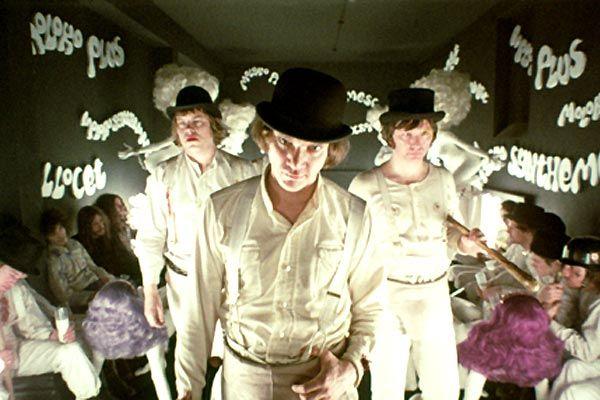 Orange mécanique de Stanley Kubrick