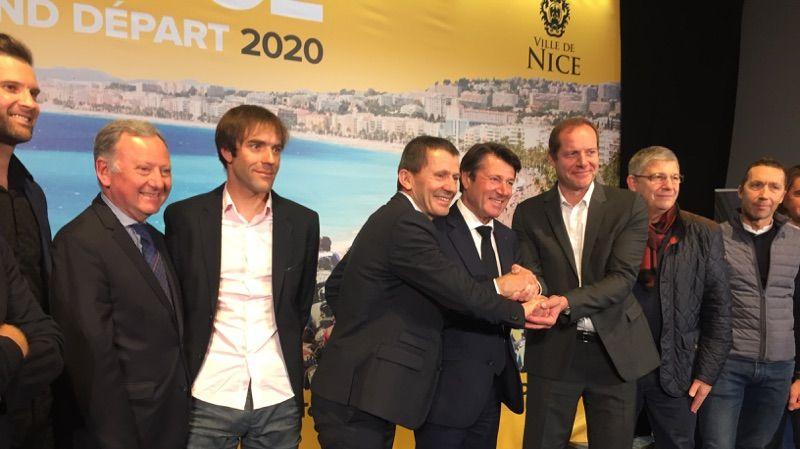 Nice accueillera le grand départ du Tour de France