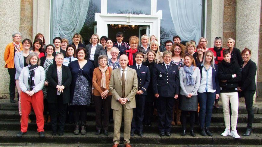 40 femmes ont pu échanger sur leurs expériences professionnelles ce jeudi à la préfecture de la Manche à Saint-Lô.