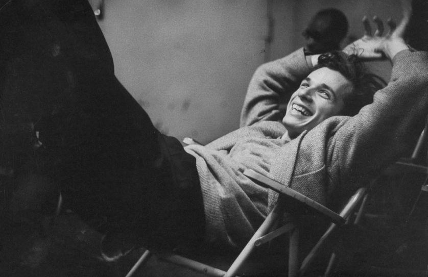 Glenn Gould en mars 1956 dans les studios de la Columbia.