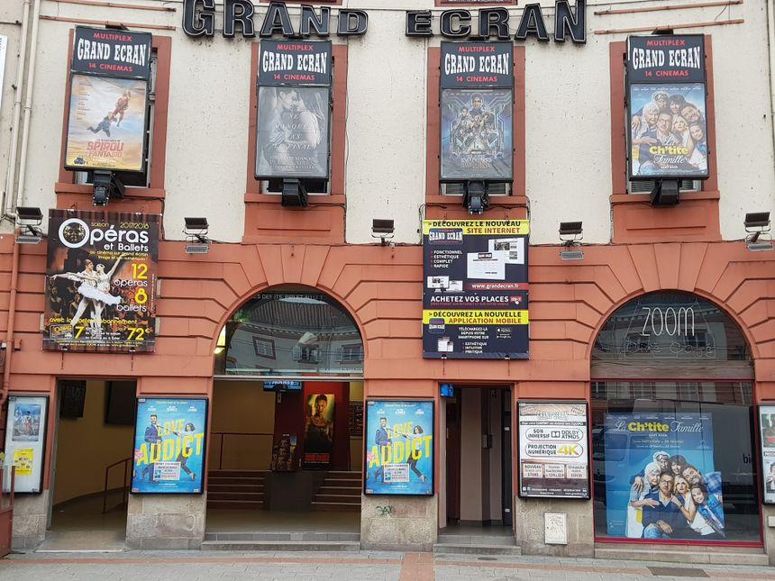 Le cinéma Grand Ecran place Denis Dussoubs à Limoges