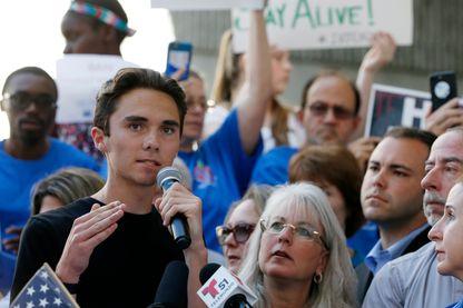 """David Hogg, survivant de la fusillade en Floride est devenu porte-parole du mouvement """"Gun Control"""""""