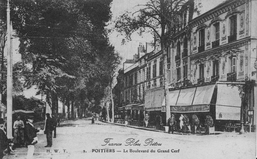 Boulevard du Grand Cerf à Poitiers