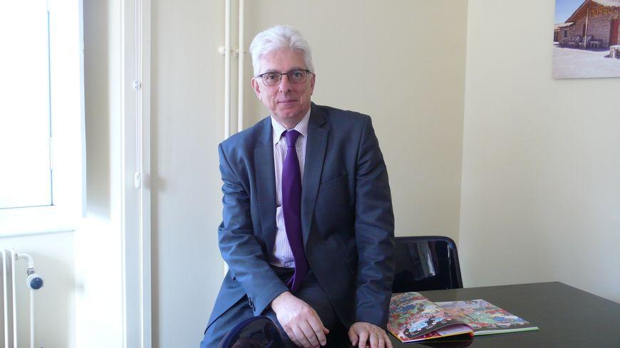 Hubert Tassy directeur de la Saline Royale