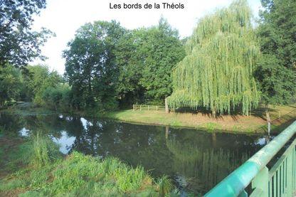 Les bords de la Théols à Sainte-Lizaigne