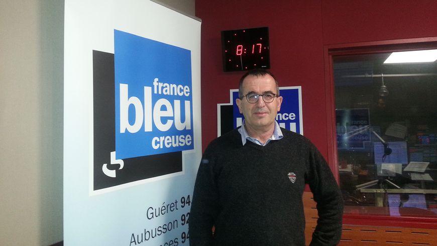 Bruno Papineau, le maire d'Evaux-les-Bains