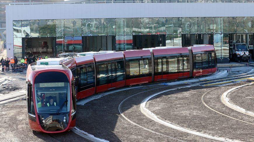 les travaux commencent pour la ligne 3 du tramway 224 nice