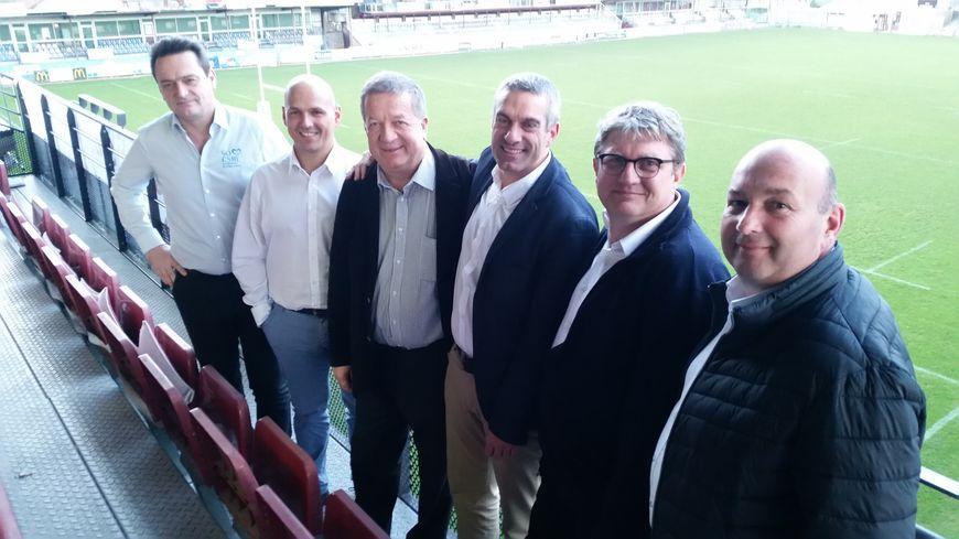 Laurent Ponthus, Christophe Carron, Dario Lodola, Henri-Guillaume Gueydan, Patrick Malon et Jean-François Gay.