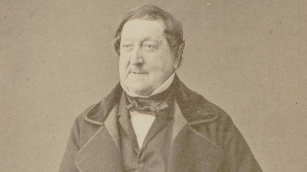 Photographie de Rossini en 1862.