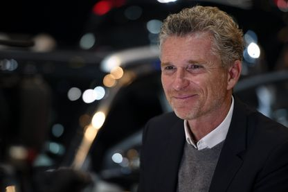 Denis Brogniart au Geneva International Motor Show en 2017