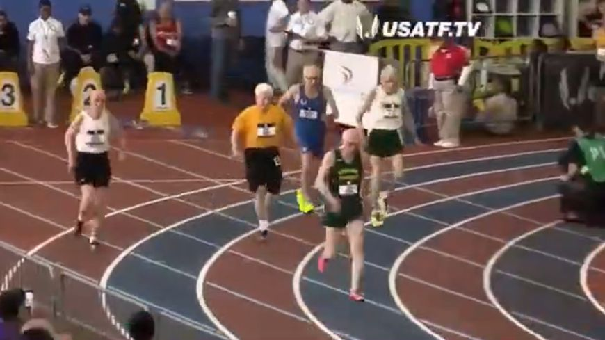 A 100 ans, l'Américain Orville Rogers a battu le record du monde du 60 mètres