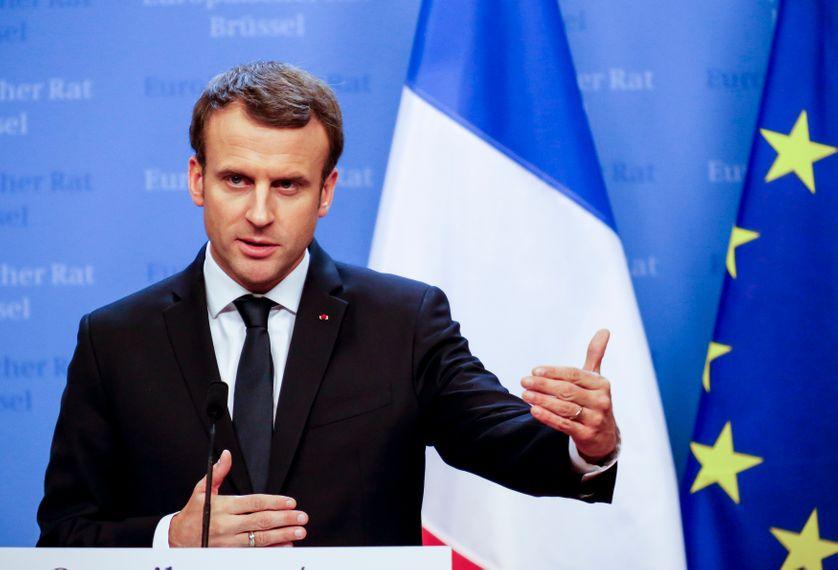 Emmanuel Macron, le 15 décembre 2017.