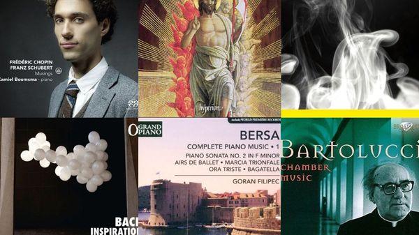 Actualité du disque : Bach, Chopin, Bersa...