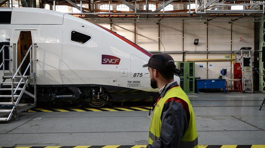 Le site Alstom de Belfort, en octobre 2017.