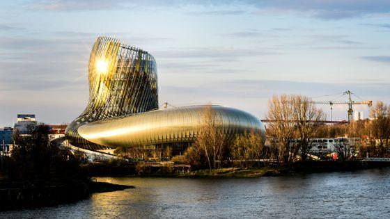 La Cité du Vin, à Bordeaux