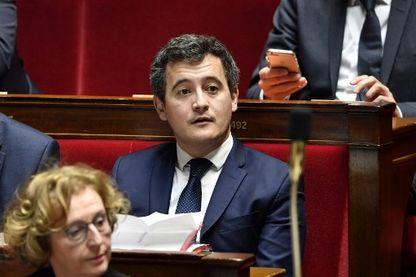 Gérald Darmanin en février 2018 à l'Assemblée Nationale