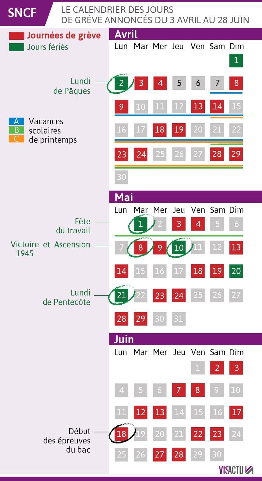 Grève SNCF : les prévisions de trafic en Auvergne pour les 22 et