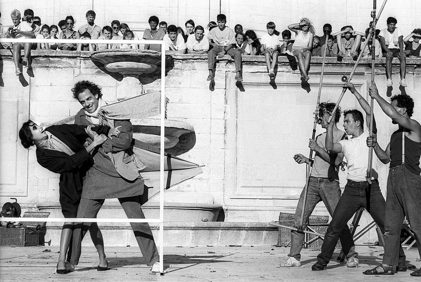 Jordi Bover spectacle cie Royal de luxe 1987 © Jordi Bover
