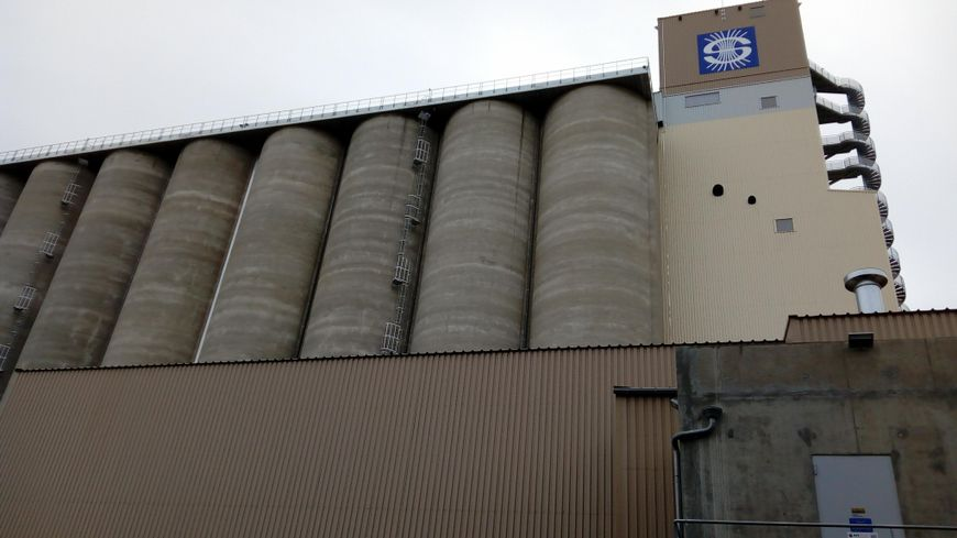 Le nouveau silo du groupe Soufflet pourra contenir 63.000 tonnes de céréales
