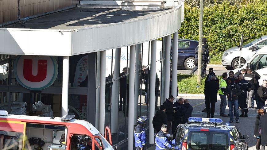 Deux employés du Super U de Trèbes ont été tués par l'assaillant.