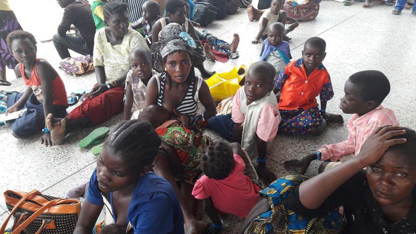 Ce sont en grande majorité des femmes qui fuient les violences intercommunautaires dans la province de l'Ituri, en RDC