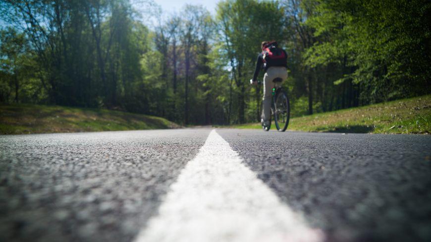 Une piste cyclable (illustration)