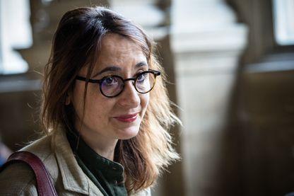 Marie Dosé, avocate, au Tribunal de Grande Instance de Paris, 18 octobre 2017.