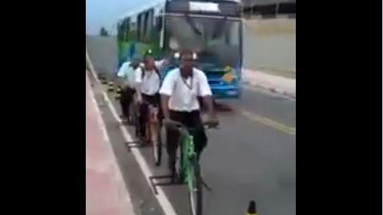 Un dispositif de sécurité routière ingénieux au Brésil