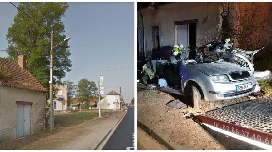 trois jeunes hommes tu s dans un accident de la route mornay sur allier dans le cher. Black Bedroom Furniture Sets. Home Design Ideas