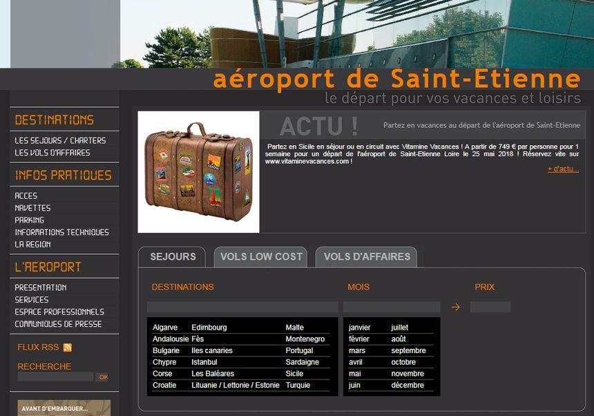 Toujours des destinations attractives sur le site, mais en réalité très peu de vols