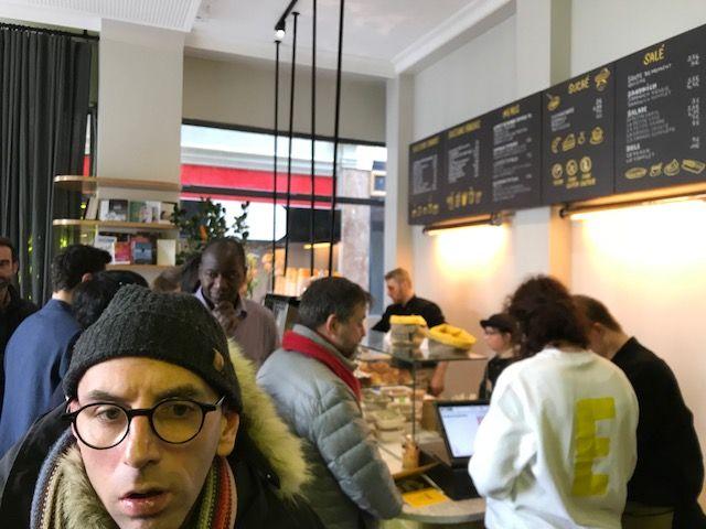 Joyeux, le coffee shop de la rue Saint Augustin