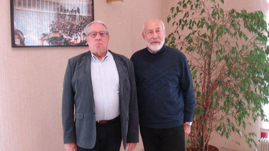 Jean-Louis Dumont et François Nowotny, maires de Neuilly-lès-Dijon et Crimolois, prêts pour le destin commun de leurs communes.