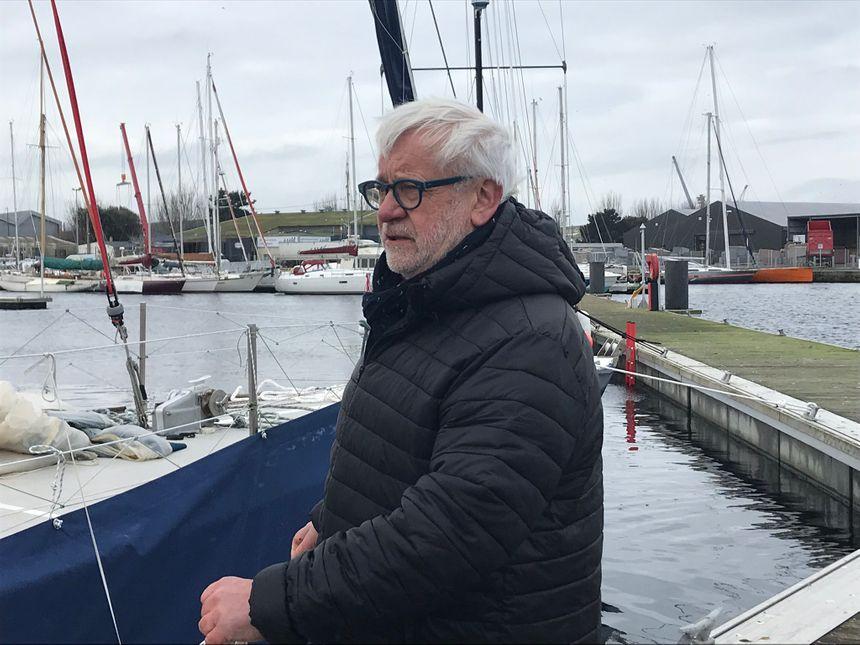 Le skipper bob Escoffier: «J'aime bien les grands bateaux en bois»