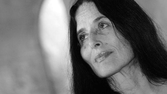 La soprano Montserrat Figueras (1942 - 2011) en juillet 2006 dans l'Abbaye de Fontfroide.