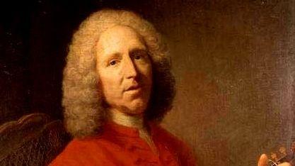 Portrait du compositeur Jean-Phlippe Rameau
