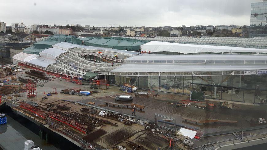 La gare de Rennes sera achevée en 2019