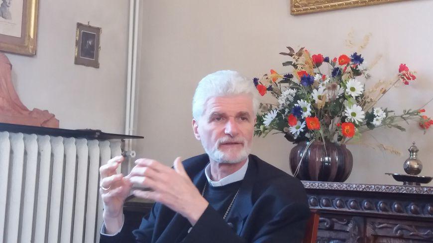 L'évêque d'Orléans Jacques Blaquart