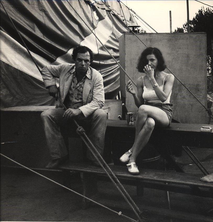 Mona Heftre et Jérôme Savary