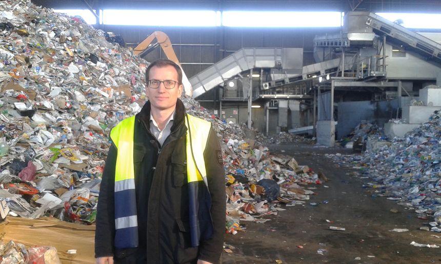 Hugues Babst, le directeur des ventes du groupe Schroll.