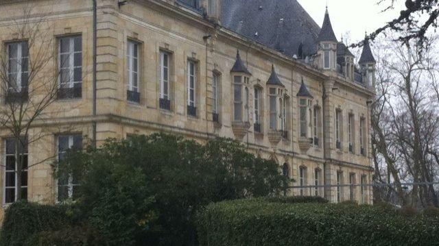 Le château du centre d'entraînement des Girondins de Bordeaux, au Haillan