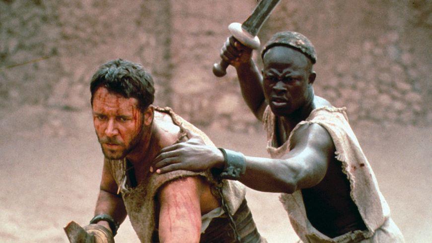 """Une scène de """"Gladiator"""", signé Ridley Scott, un film qui revisite le genre du péplum."""