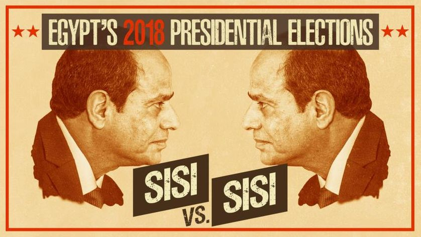 """The New Arab, """"Sisi vs Sisi: Egypt's 2018 presidential elections"""", 28 février 2018"""
