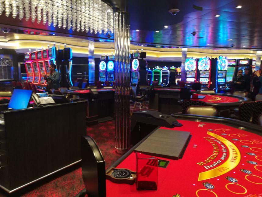 Le casino du Symphony of the seas