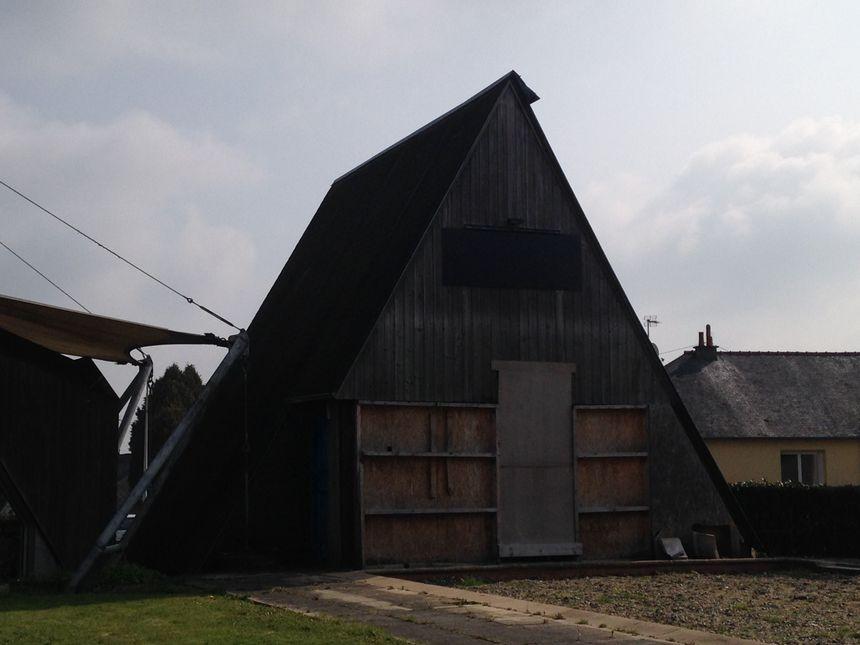 Les premiers logements de Copainville à Mayenne.