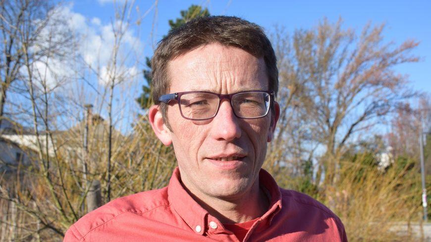 Jérome Crozat, nouveau président de la FDSEA en Isère depuis le 19 mars