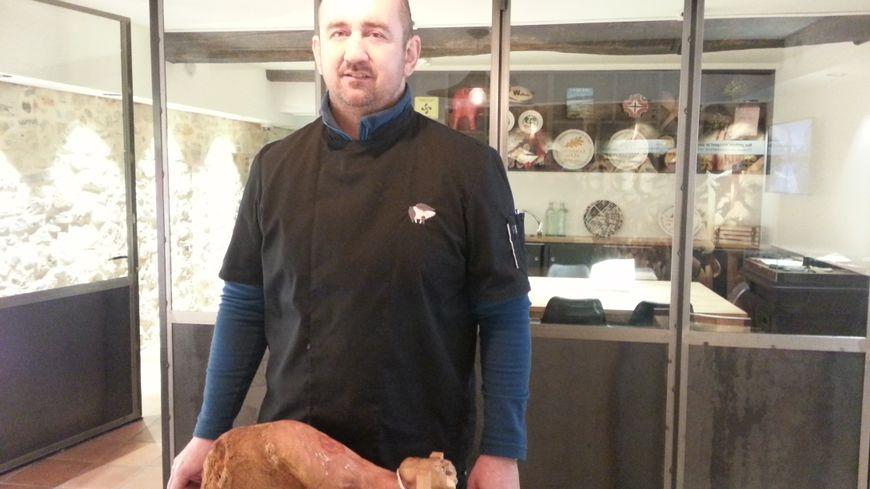 Cédric Bergès dans le tout récent Musée du Jambon