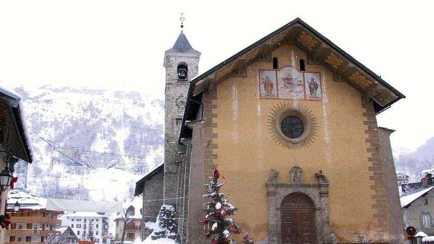 Le centre de la station-village de Valloire