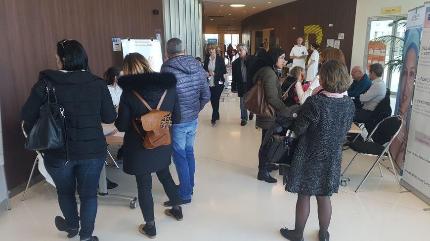 Le bus des soins de support s'est arrêté ce mercredi à l'Oncopole de Toulouse.