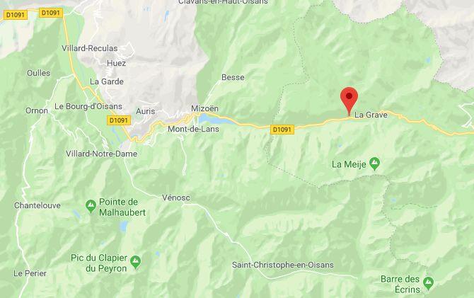 La Grave dans les Hautes-Alpes