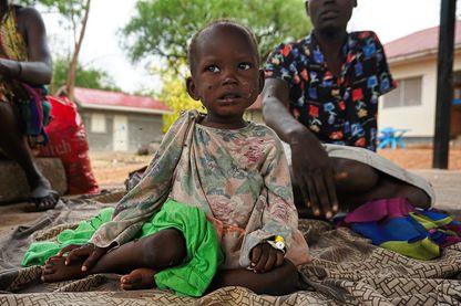 Les enfants victimes de la guerre civile au Soudan du Sud